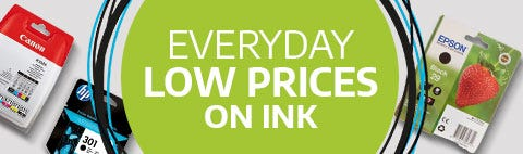 Everyday Low Prices on Ink