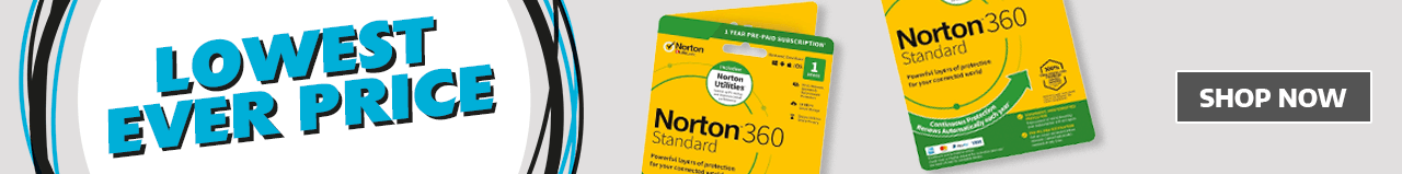 Lowest Ever Price on Norton Security