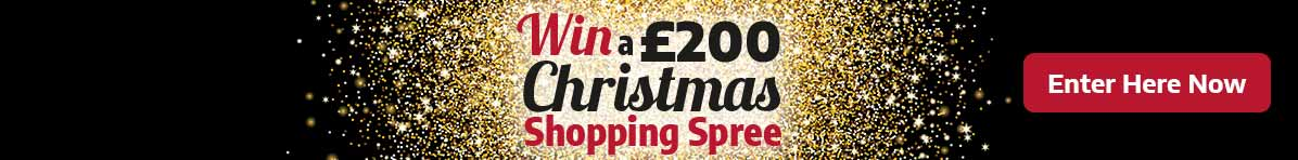 Win a £200 Christmas Shopping Spree