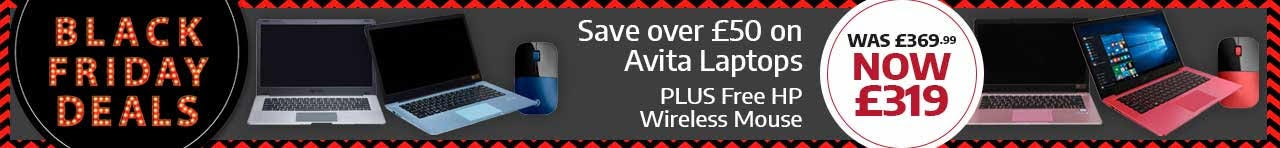 Black Friday Deals | Save over £50 & a Free HP Wireless Mouse