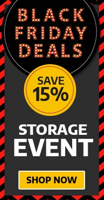 Save 15% on Storage for Black Friday