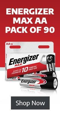 Shop 90 Pack of Batteries