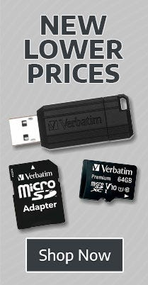 New Lower Prices on Memory & Storage