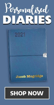 Shop Personalised Diaries