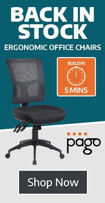 Pago Chairs Back In Stock