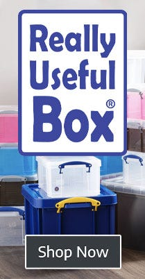 Shop Really Useful Storage Boxes