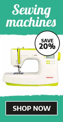 20% Off Sewing Machines