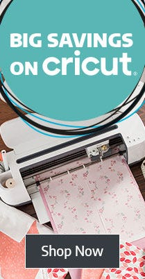Big Savings on Cricut