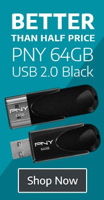 Better Than Half Price 64GB USB